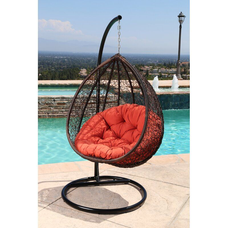 Ghazali Swing Chair With Stand In 2020 Swinging Chair Swing Chair Garden Patio Swing Chair