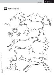 Höhlenmalerei Malvorlagen