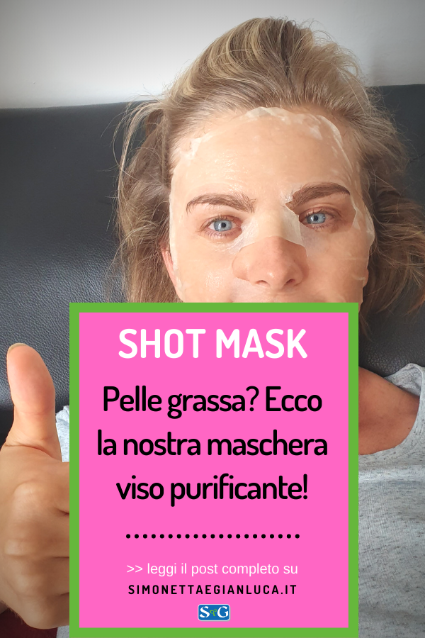 Maschera viso per la pelle grassa Shot Mask FitLine Skin