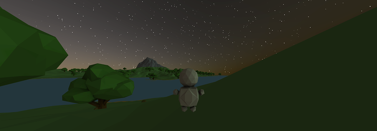 Procedural Open World Exploration Game I M Working On Explore