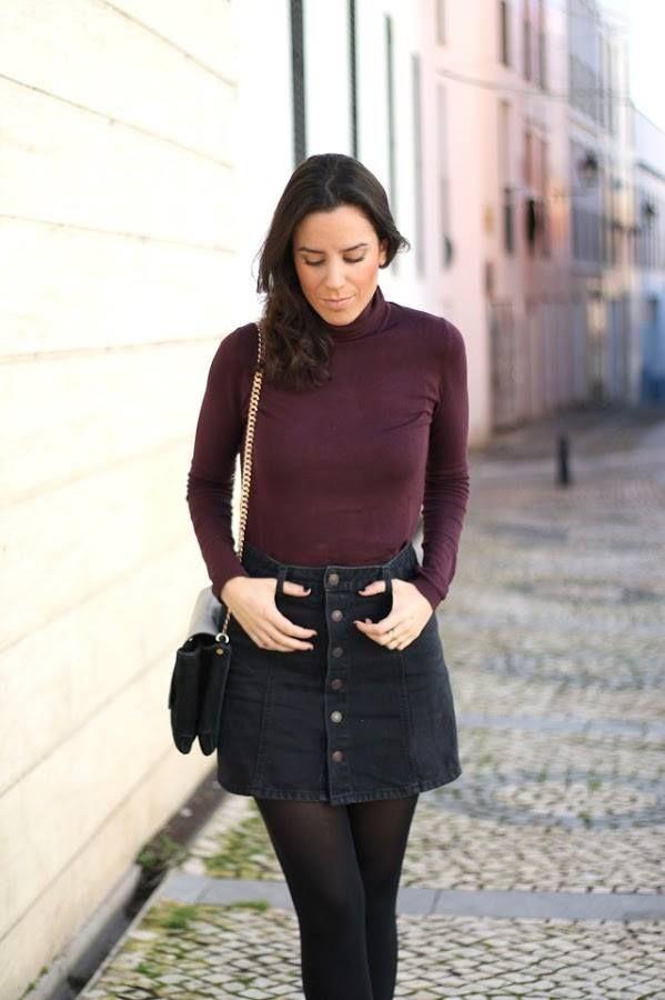 incredible outfit falda pinterest y
