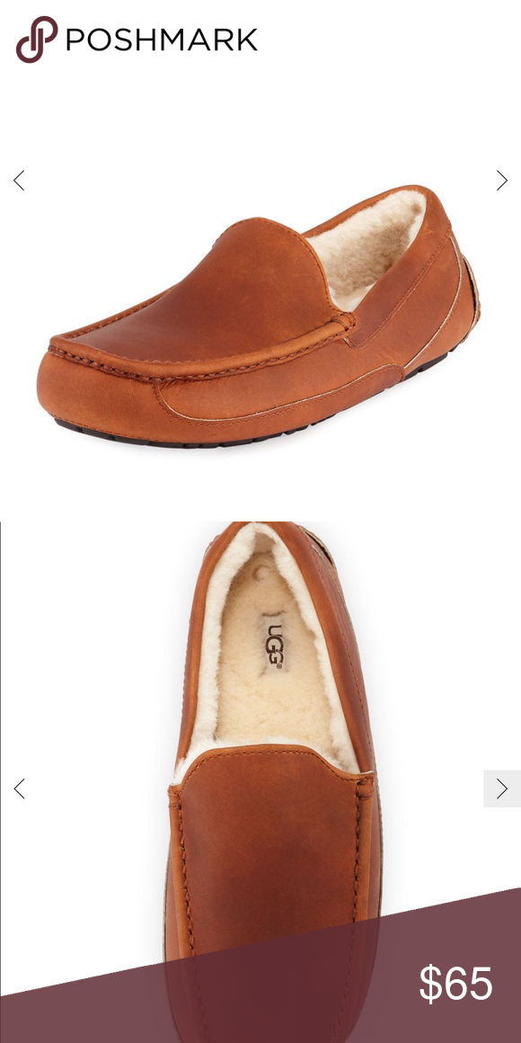 796652723dc Ugg s men s slippers New in box from Neiman Marcus UGG Shoes Loafers    Slip-Ons