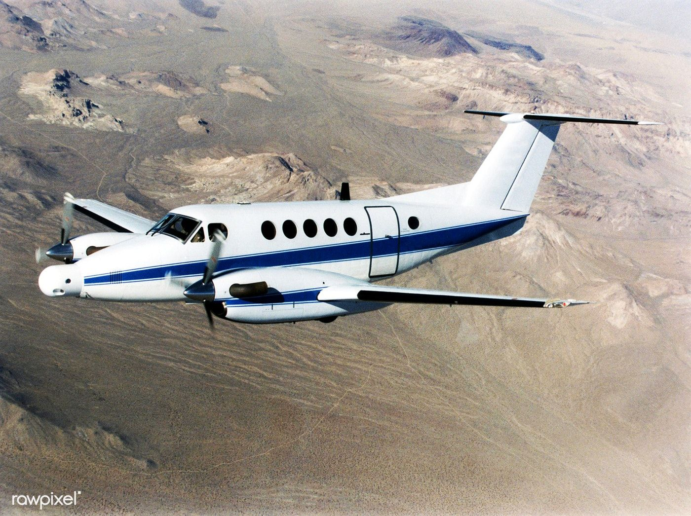 A NASA King Air successfully tested the Advanced Data