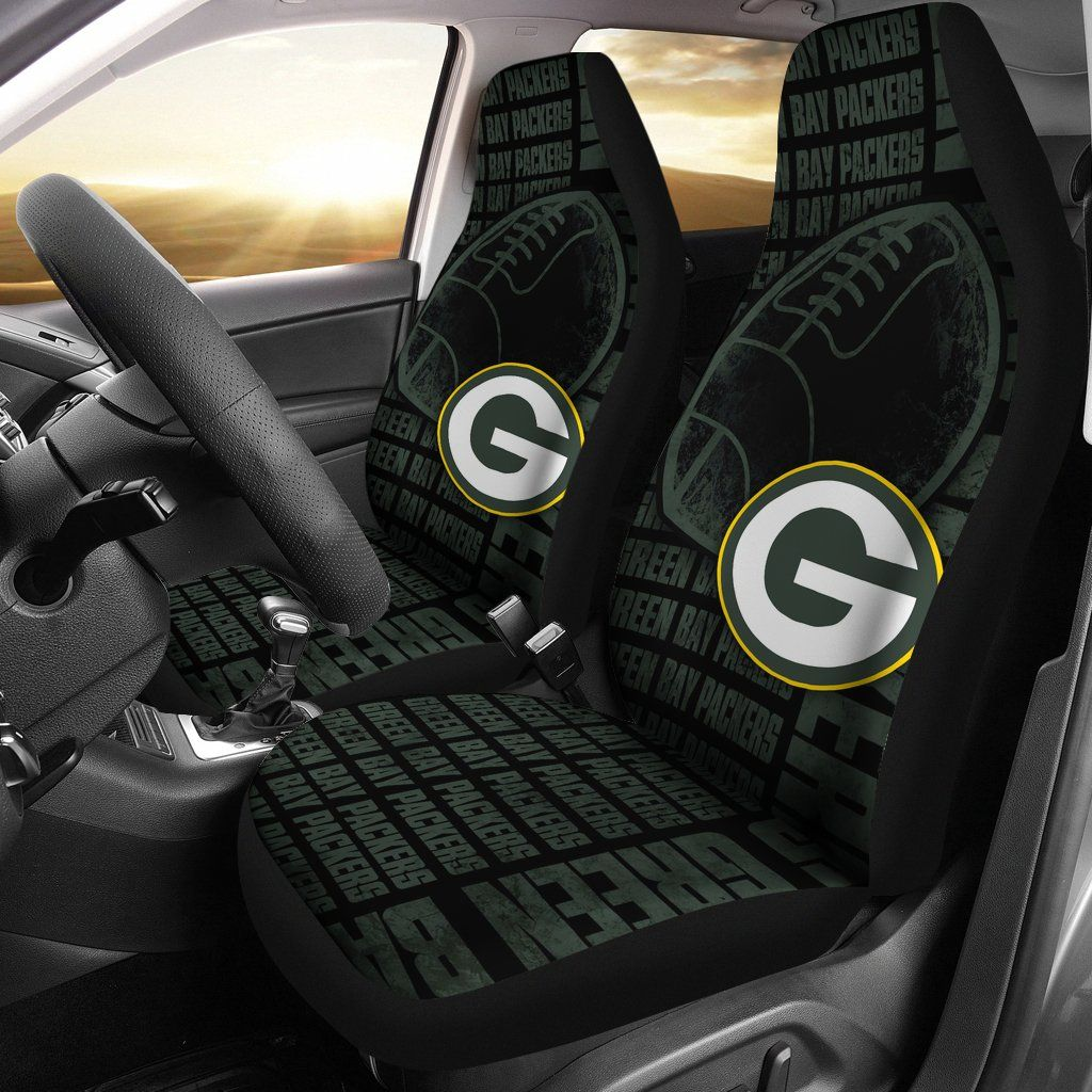 The Victory Green Bay Packers Car Seat Covers