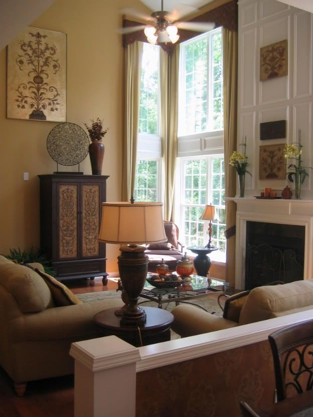 Great Family Room Ideas Part - 43: (ANOTHER) TWO STORY GREAT ROOM MAKEOVER