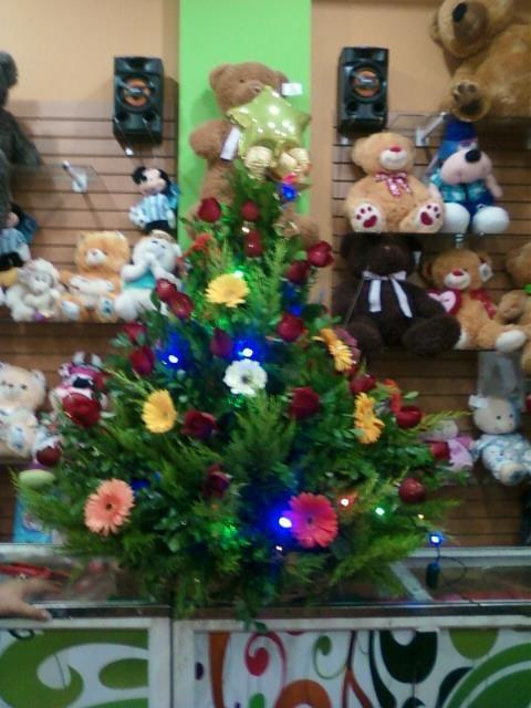 Dise o de arbol de navidad con luces led incorporadas decoraciones para cualquier evento - Luces arbol de navidad ...