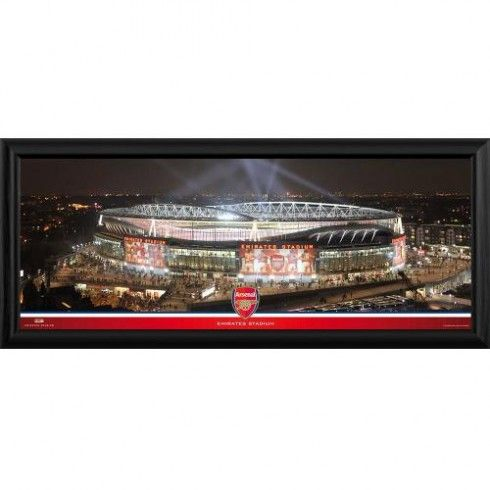 Arsenal F.C. Framed Panoramic Print Emirates