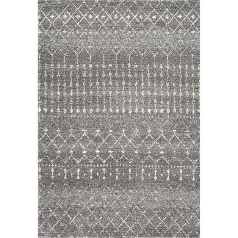 Clair Dark Gray Area Rug All Modern 309 9x12 For Dining Room Dark Gray Area Rug Area Rugs Dark Grey Rug