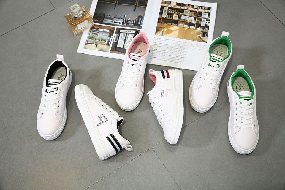 Sneaker Sport Shoes Gucci 7217 Sale Bahan Kanvas Synthetic