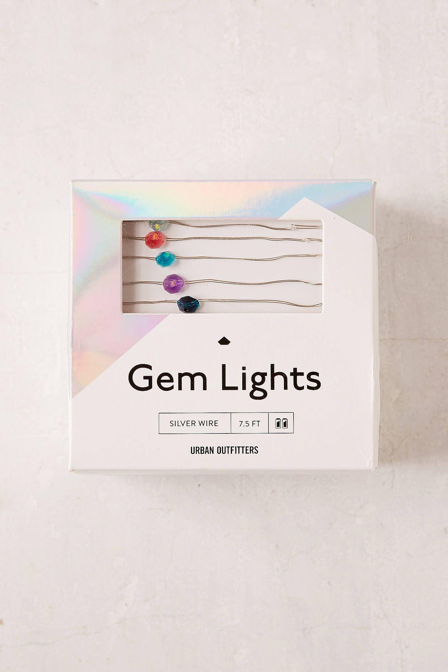 Slide View: 4: Gem Fairy Lights