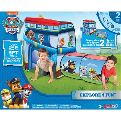 official photos 0c611 d3821 Playhut Paw Patrol Explore 4 Fun Play Tent | Products in ...