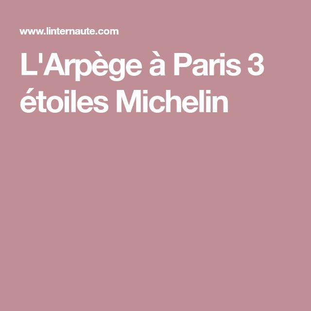 Larpège à Paris 3 étoiles Michelin Paris Paris
