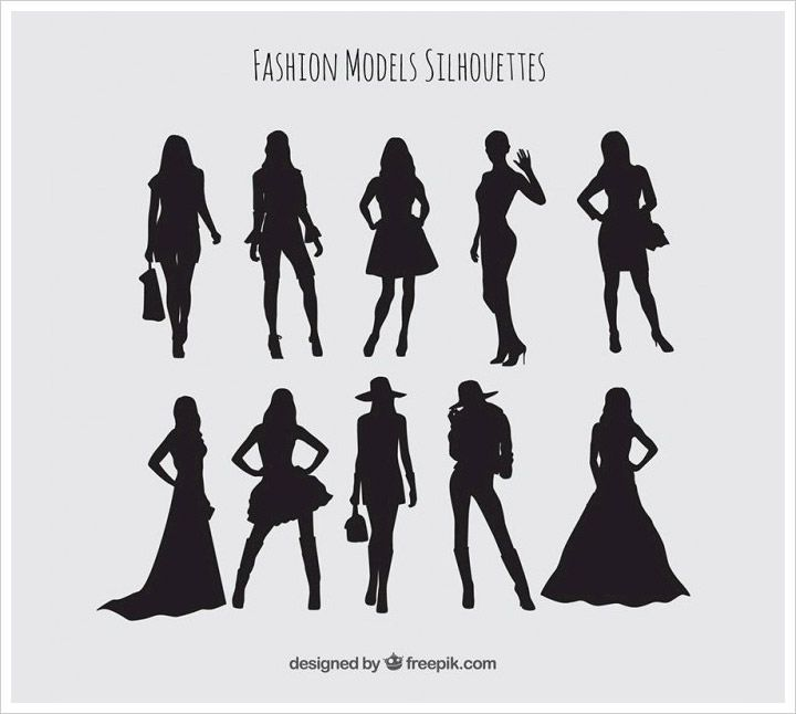 50 Free High Quality Silhouette Sets Silhouette