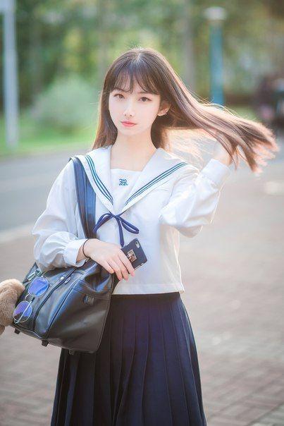 Seifuku  Милые Азиатские Девушки, Азиатские Модели И Быть
