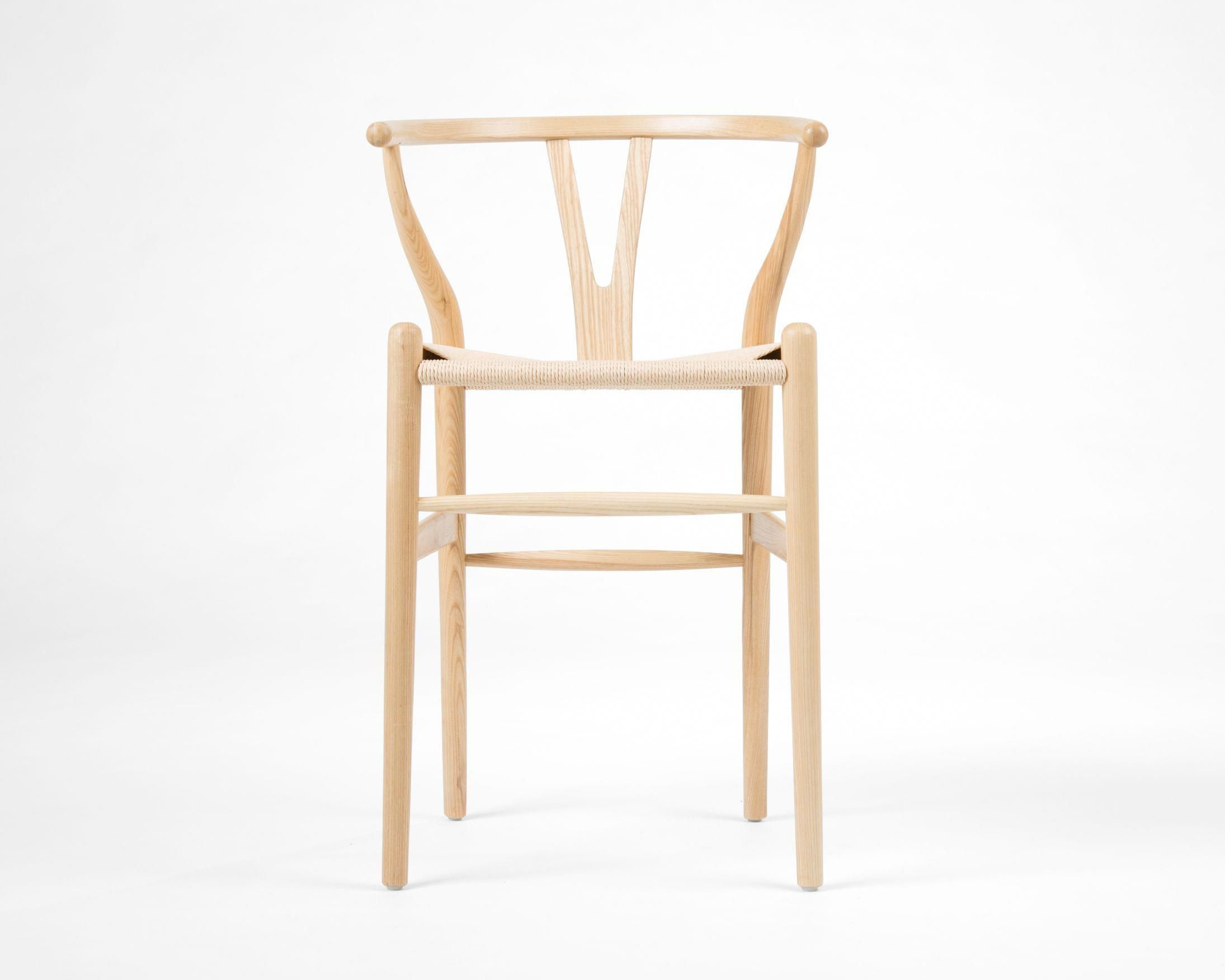 The wishbone counter stool is inspired by hans wegners most well known design like