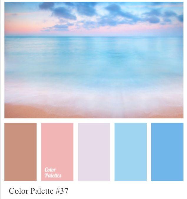 Ocean Color Palette: Colour Palette - Cool Pinks And Blues