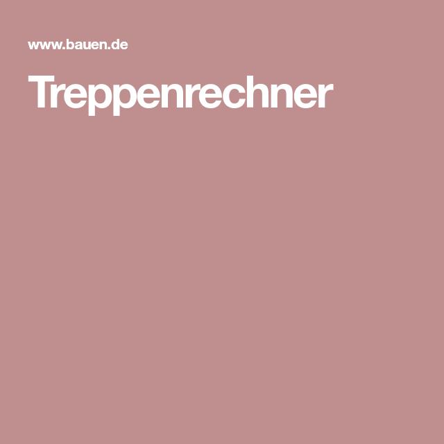 Treppenrechner Metallgestaltung Pinterest