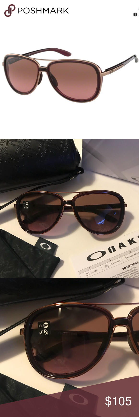 cd9a28906e2 Oakley Split Time Sunglasses New. Never worn. Perfect condition. Were on  display at