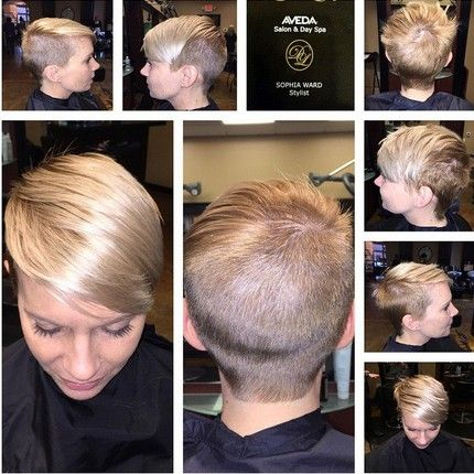 Short Shaved Hairstyles shaved short haircut 23 Best New Hairstyles For Fine Straight Hair