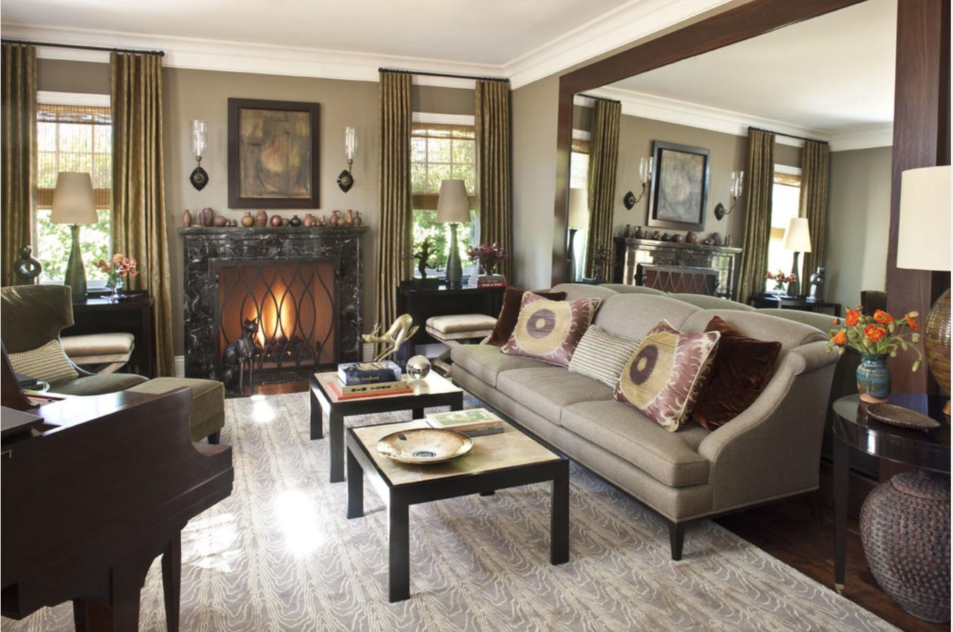 Beautiful Traditional Living Room Houzz Huiskamer Huis