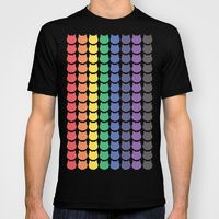 T-shirt featuring Rainbow Cats by Megan Hillier