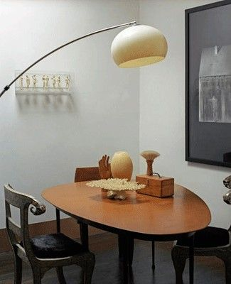 Arc Floor Lamp For Dining Table Also Contemporary Floor Lamps