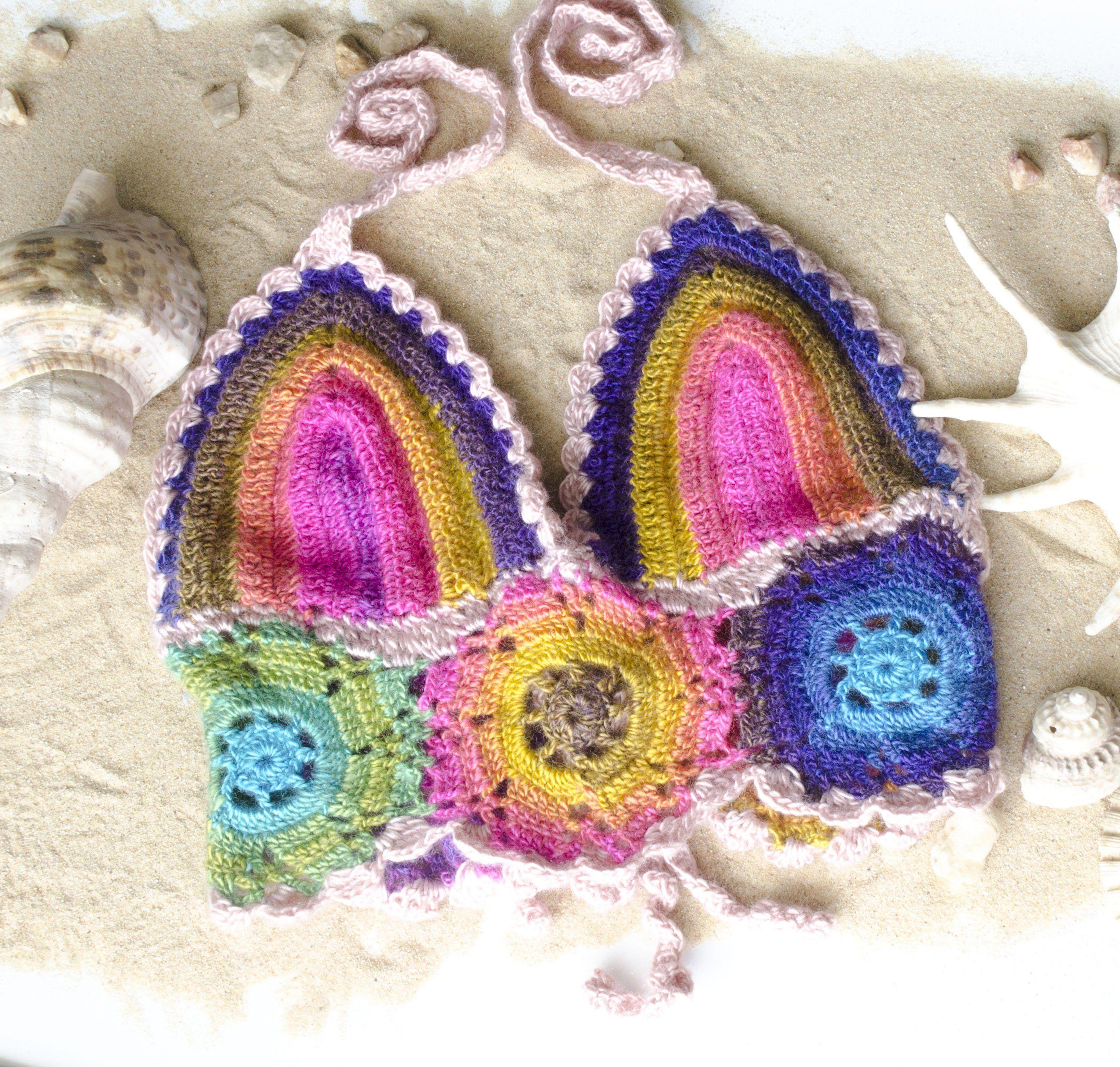 61320e9d9e078 Handmade Rainbow Crop Top