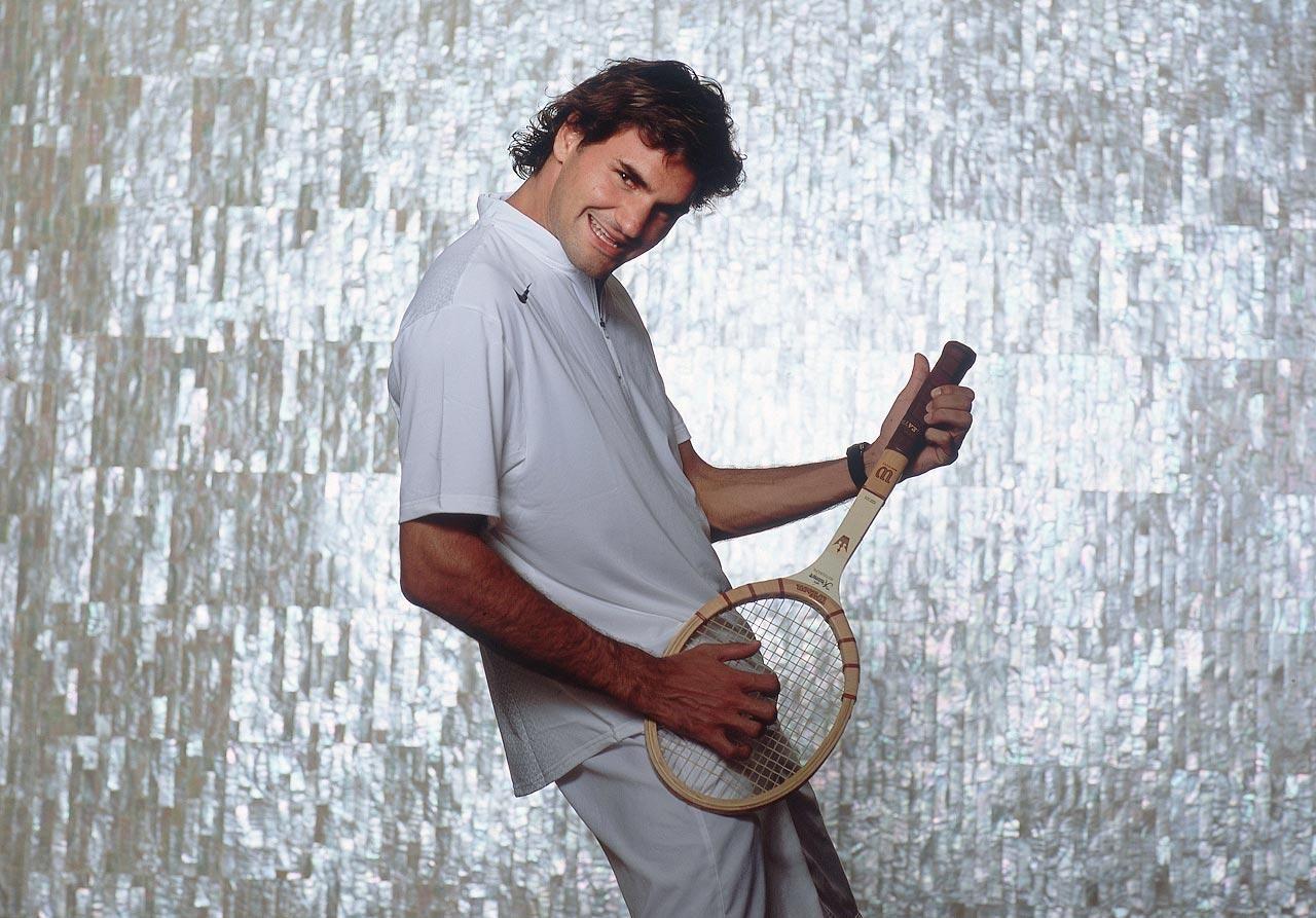 Rare Photos of Roger Federer