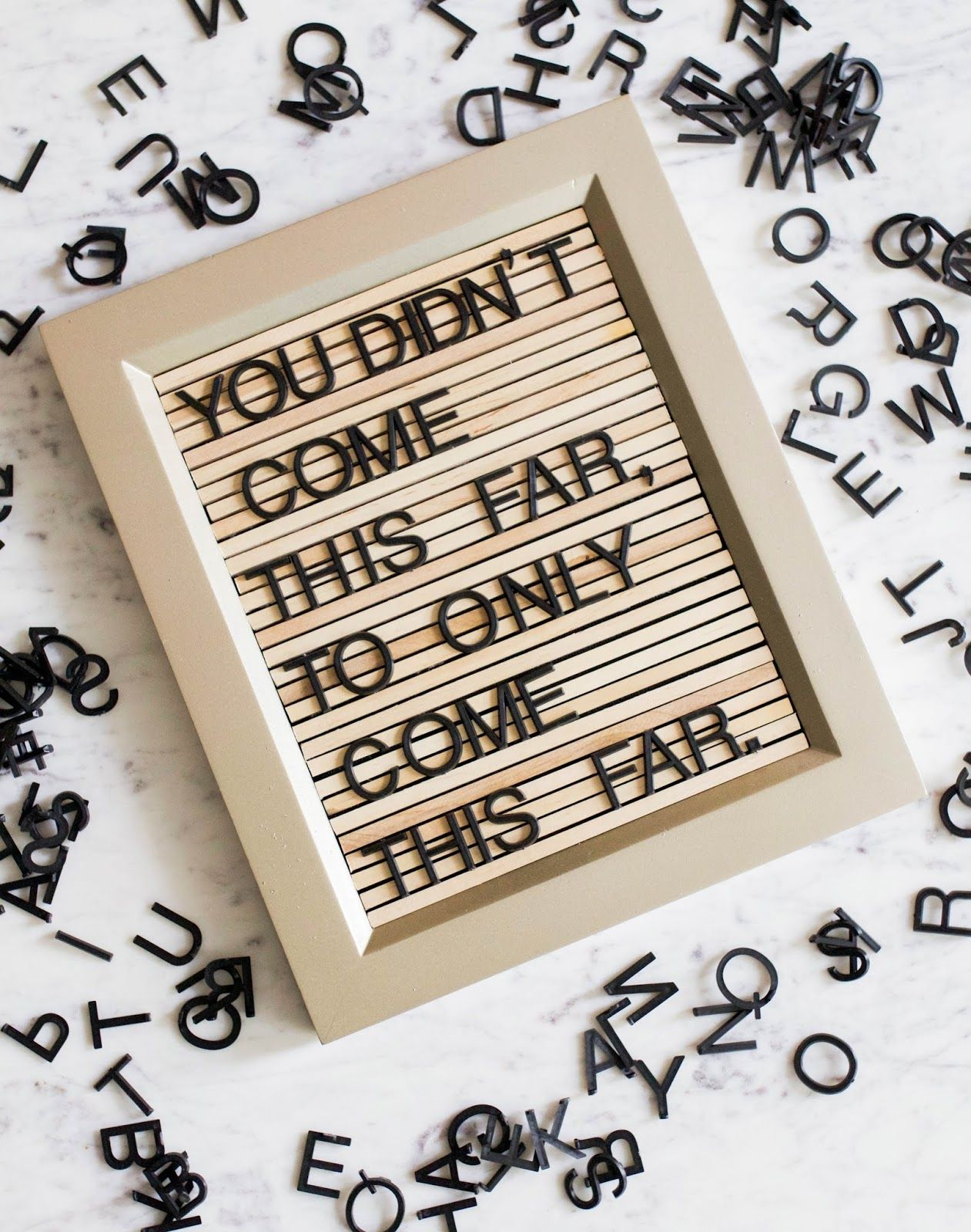 Before After Diy Wooden Letter Board 17 Apart Letterboard Letterboardquotes Wooden Letters Message Board Quotes Letter Board