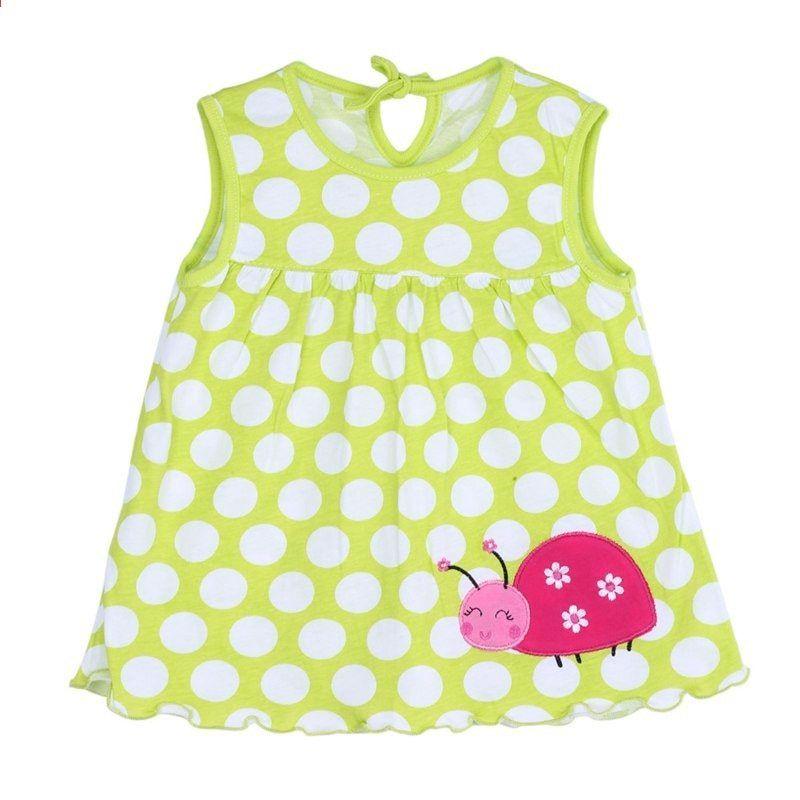 3d3387c6af39 0-2t बेबी गर्ल्स ड्रेस ग्रीष्मकालीन ...
