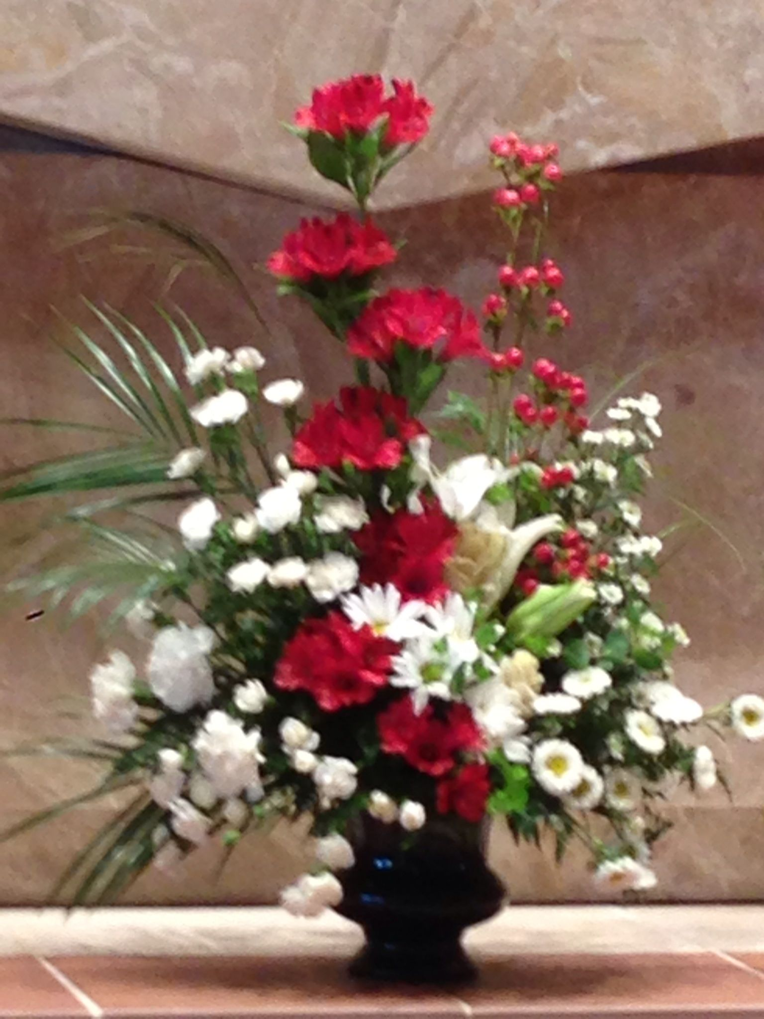 Church flowers making arrangements pinterest