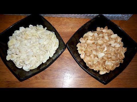 نقدم لكم مطبخ أم أسيل تدبيرة بسيطة للحصول على رقائق اللوز و الفول السوداني في البيت من تحضير مطبخ ام اسيل المقادير مدكورة في الفيديو شهية طيبة لاتنس Food Grains