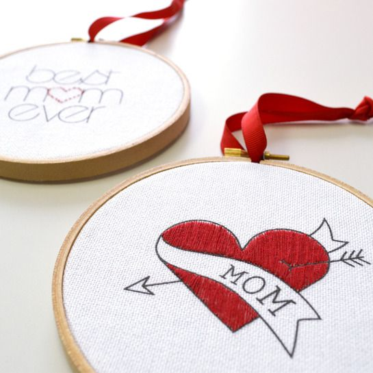 MOTHER'S DAY EMBROIDERY KIT