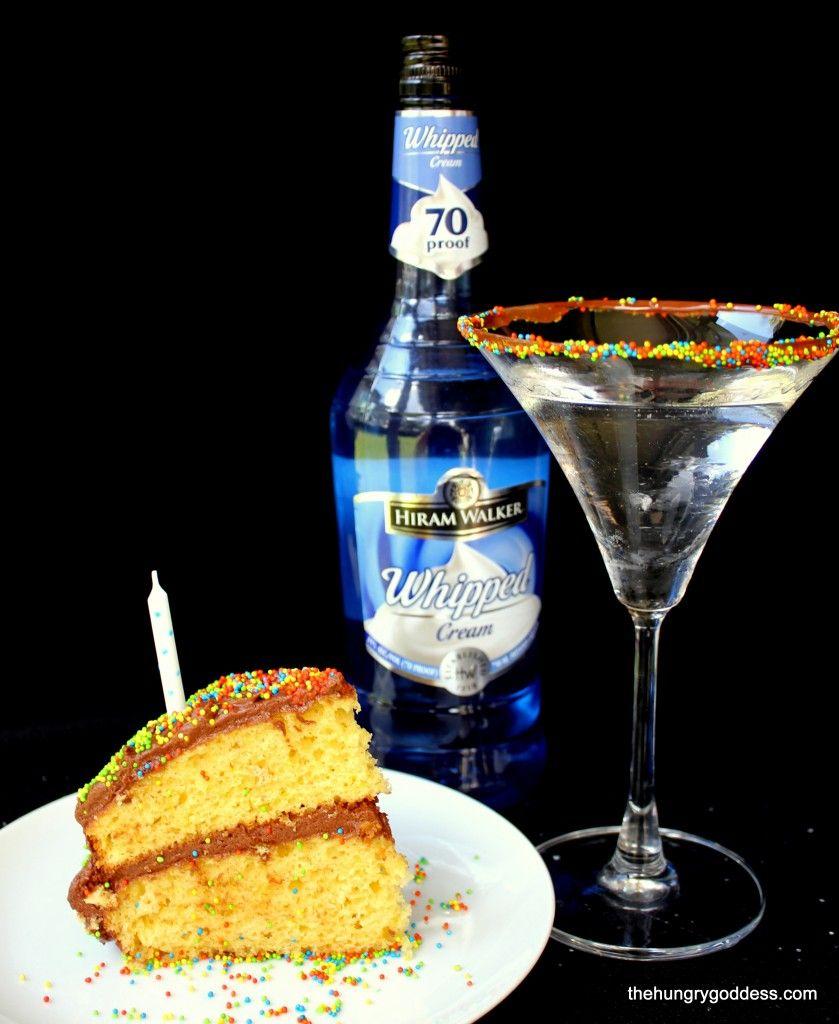 Thirsty Thursday Martini Recipes thirstythursday Birthday cake
