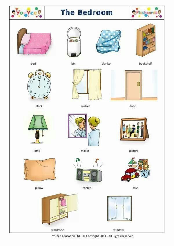 Items in a bedroom