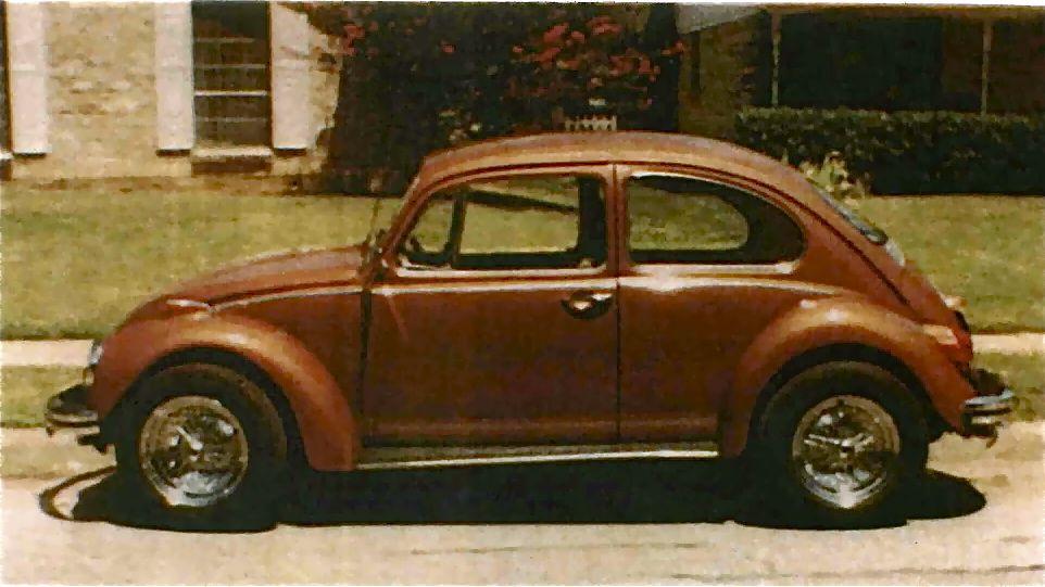My very first car! 1968 Beetle Metallic Brown! | VW Beetles ...