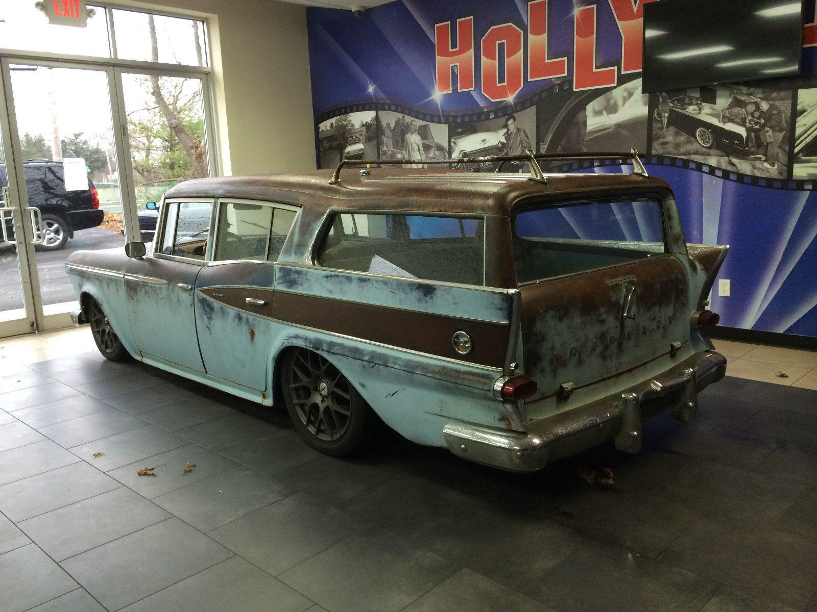 59 AMC Rambler Cross Country Wagon... RatRod Restomod Built by Gas ...