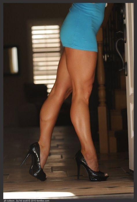 Calves women muscular Calves, Muscle,