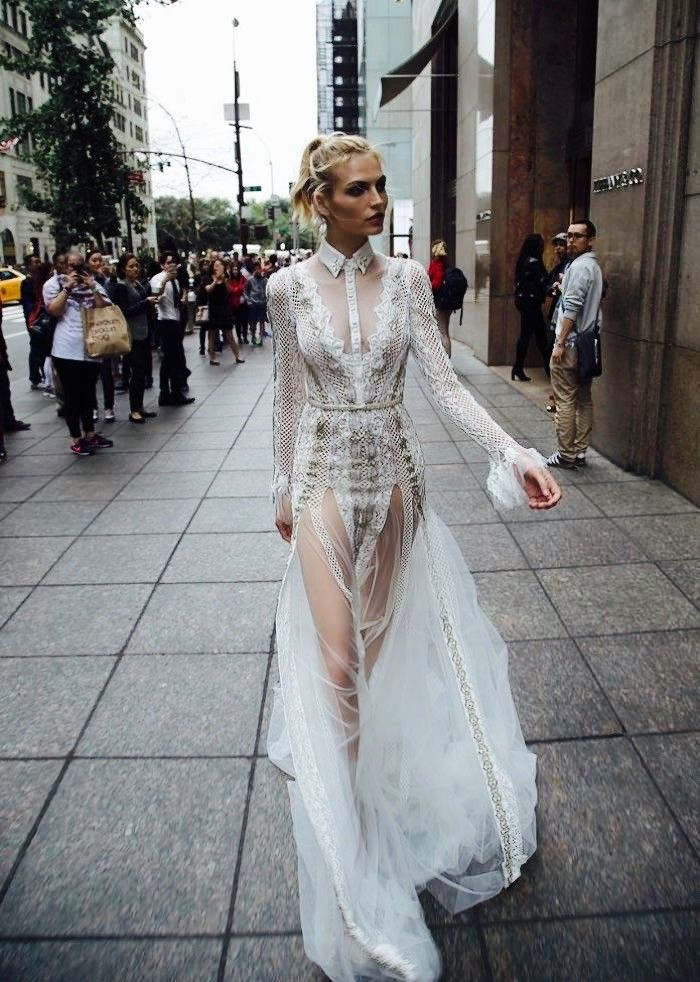 See the Wedding Dress Beyoncé Wore to the Grammys | Wedding dress ...