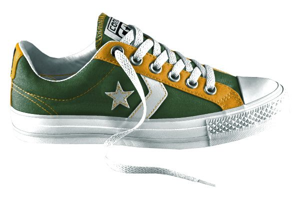 f47f2bad0cc3d Oakland Athletics Converse | Oakland Athletics Fashion, Style, Fan ...