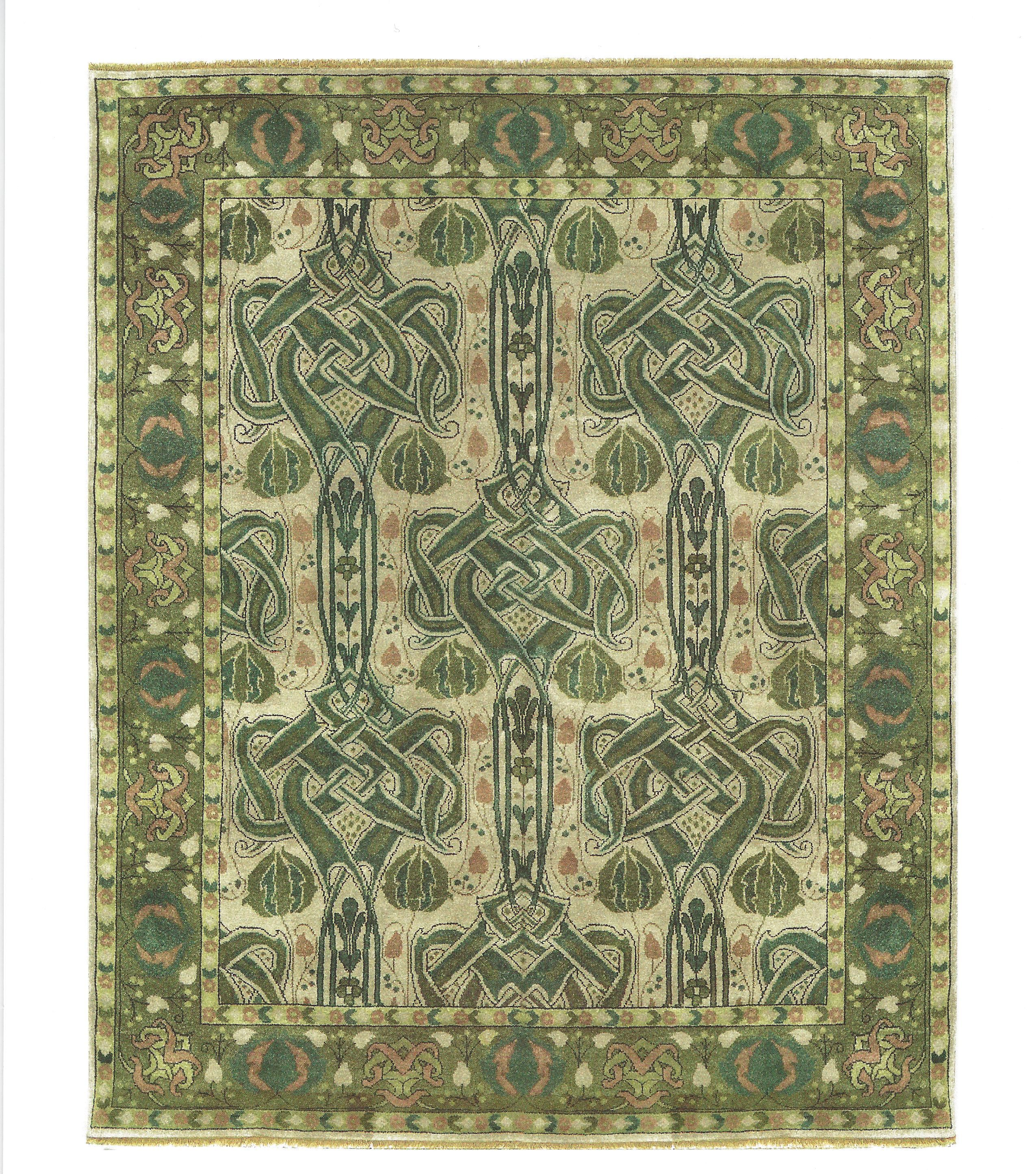 Celtic Knot Rug (Green) | Little Bear Interiors. The Best Furniture Store In