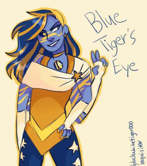 Blue Tigers Eye The Crystal Gem Pinterest Steven Universe