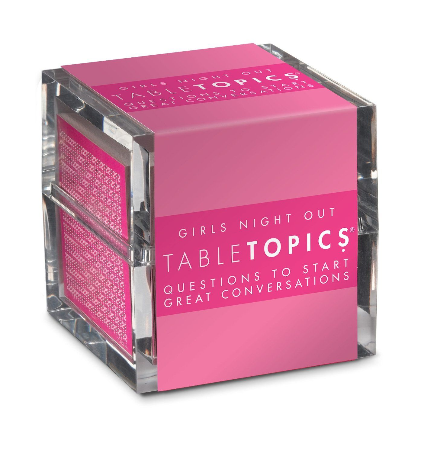 for the next girls night out a table topics game filled with racy questions to