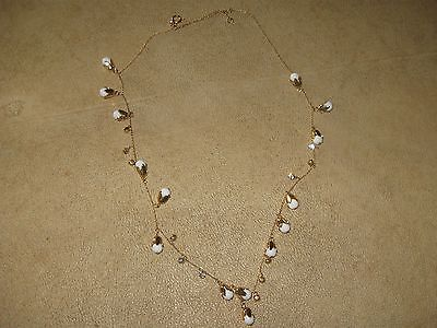 Ann Taylor 31-inch chain necklace with rhinestones ceramic and gold flowers https://t.co/OOLX8kFLq6 https://t.co/6gUcmfZkLc