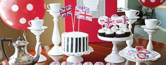 Party di compleanno London style | PiccoliElfi