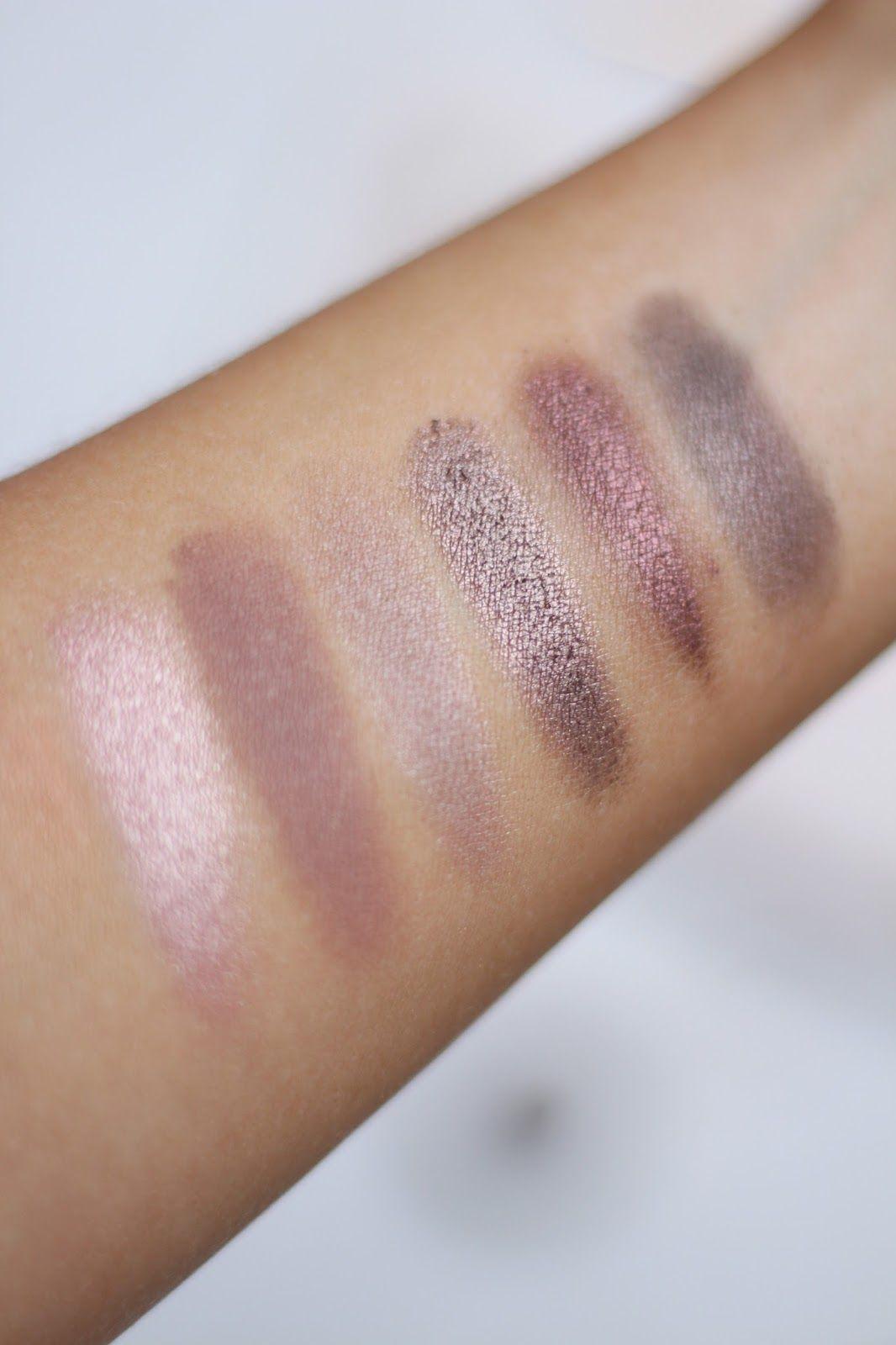 Pink Eyeshadow Swatches Rimmel Magnifeyes Palette Rimmel