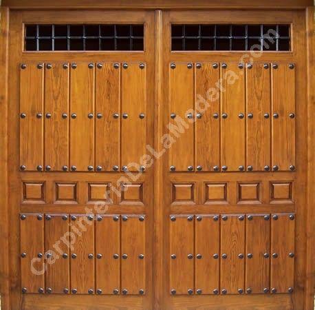 Portones de madera buscar con google exteriores for Puertas y portones de madera