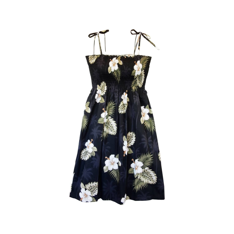 Blackberry Short Hawaiian Smocked Sundress   #sundress #floraldress #maxidress #hawaiiandress #hawaiiandresses #sexyhawaiiandresses #hawaiianweddingdress