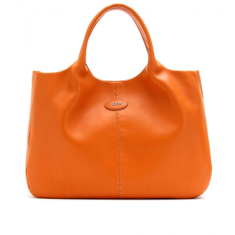 Tods Making My Orange Heart Sing Bag Pinterest Bags Color Leather