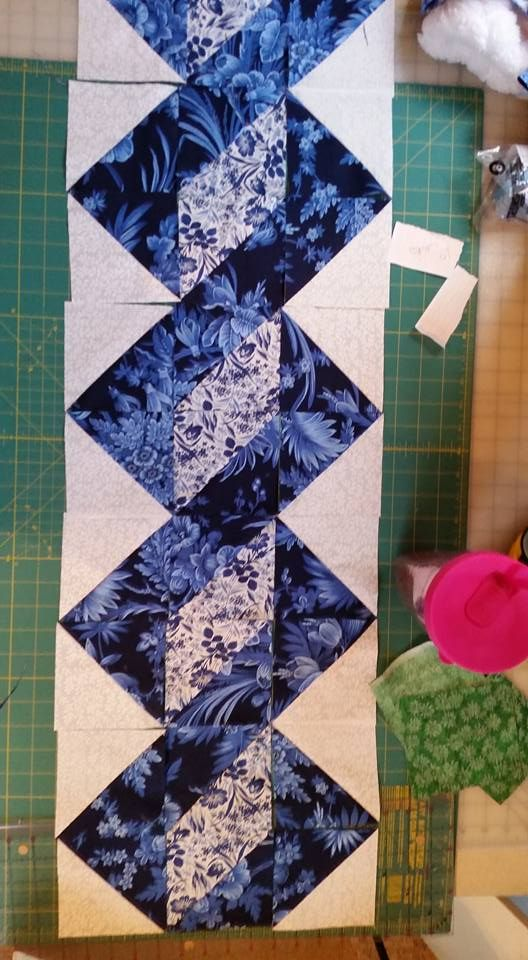 Break Down Of Pattern Quilting Inspiration Patchwork